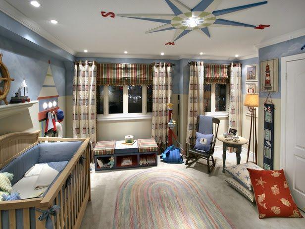 La Bebe Chambre: Nautical Inspired Rooms