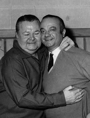 Anibal Troilo y Astor Piazzolla en 1951
