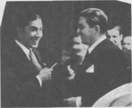 Carlos Gardel con Ignacio Corsini