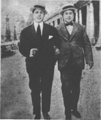 Carlos Gardel y Razzano en Mar del Plata