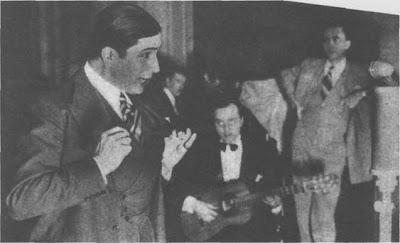 Carlos Gardel y Horacio Pettorosi en 1933