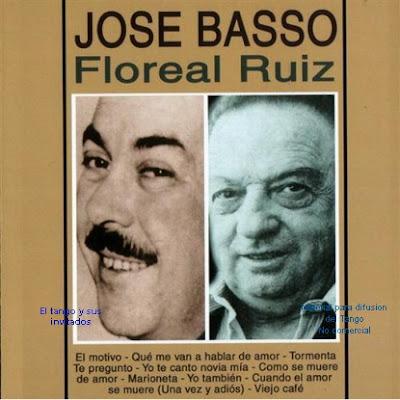 Jose Basso y Floreal Ruiz