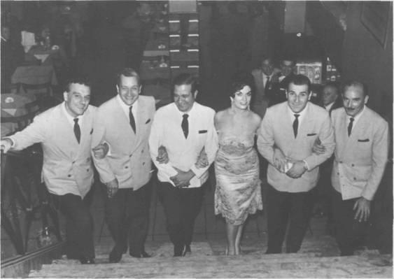De izquierda a derecha: Jorge Caldara, Hugo Baralis, Roberto Jiménez, Marga Fontana, Armando Cupo y