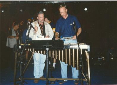 Pablo Ziegler y Gary Burton en 1998