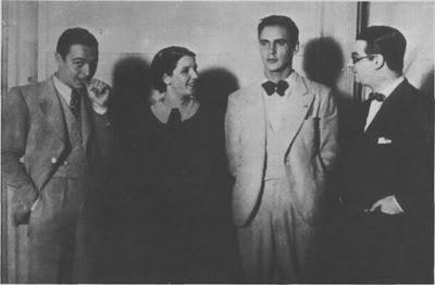 Antonio Rodio con Libertad Lamarque