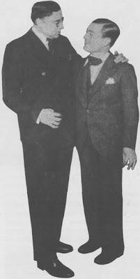 Roberto Firpo y Cayetano Puglisi en 1933