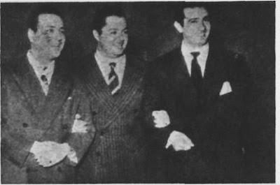 Aldo Calderon, Anibal Troilo y Jorge Casal