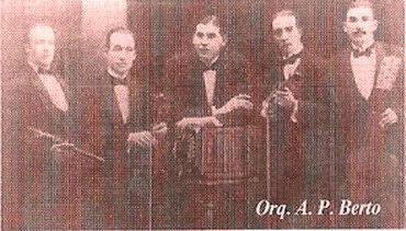 Quinteto tipico de Augusto Pedro Berto