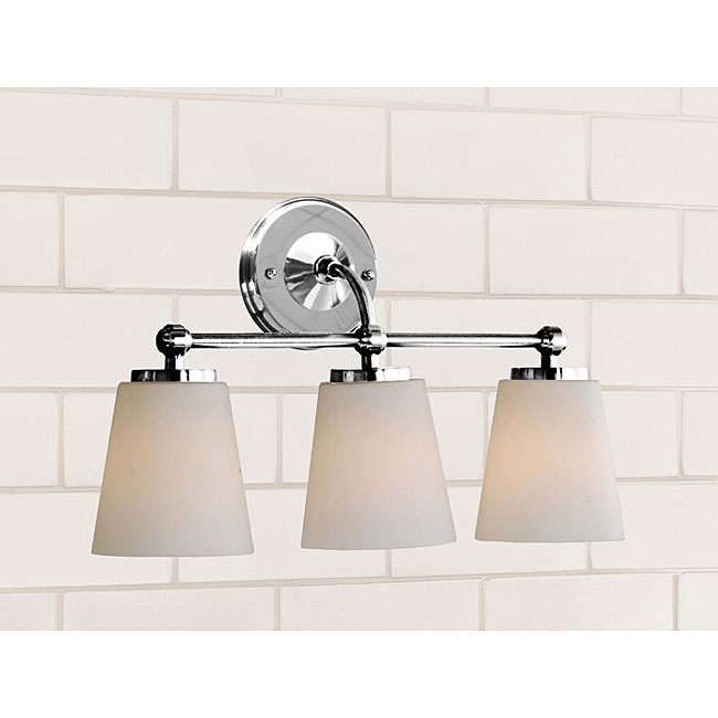 Triple Sconce Bathroom: Pottery Barn Sussex Triple Sconce
