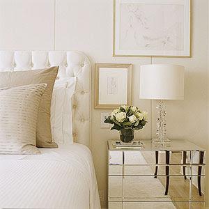 Copy Cat Chic Glam Ivory Bedroom