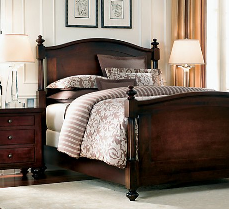 Restoration Hardware Camden Arch Bed Copycatchic