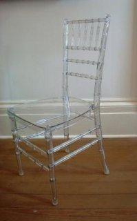 Lucite Chiavari Ballroom Chair Copycatchic