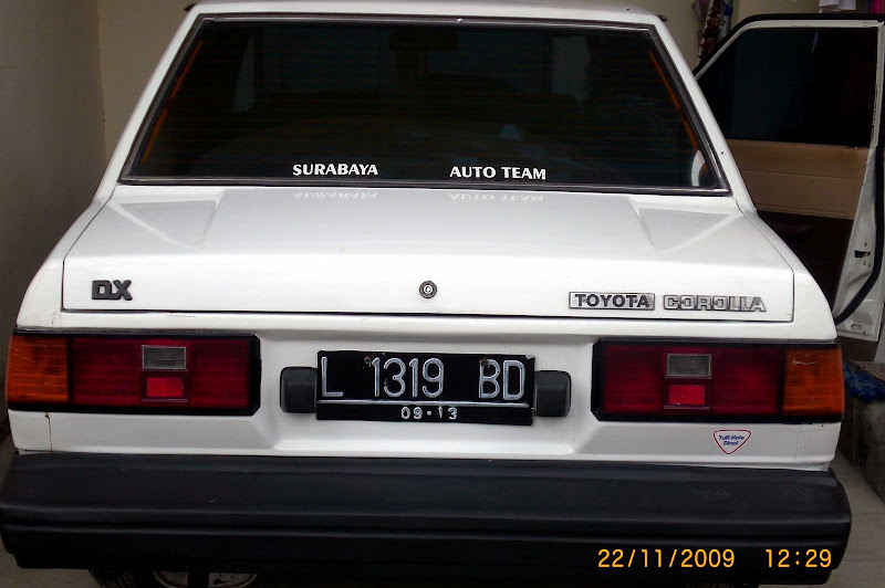 Corolla DX Thn 83 All Original (SOLD OUT) title=