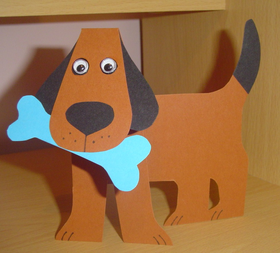 Crafting with dogs more doggy projects for Arts and crafts templates