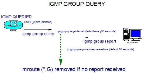 router ric: PIM - IGMP GROUP QUERY TIMERS