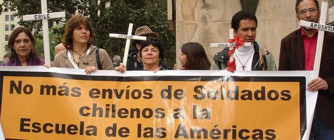 Observadores Escuela de las Américas - Chile