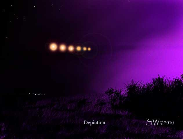 UFOs- Lights In The Texas Sky: Mystery Lights Near Abilene, Texas