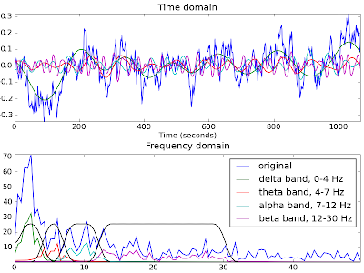 Think, Forrest! Think!: EEG Signal Processing in Python and
