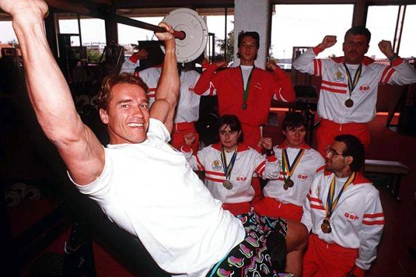Life of Arnold Schwarzenegger in photos