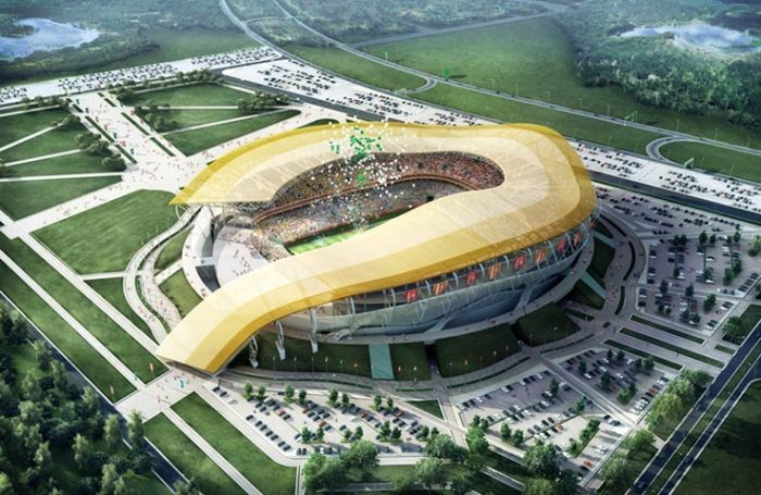 Stadiums for World Cup 2018, Russia: 14