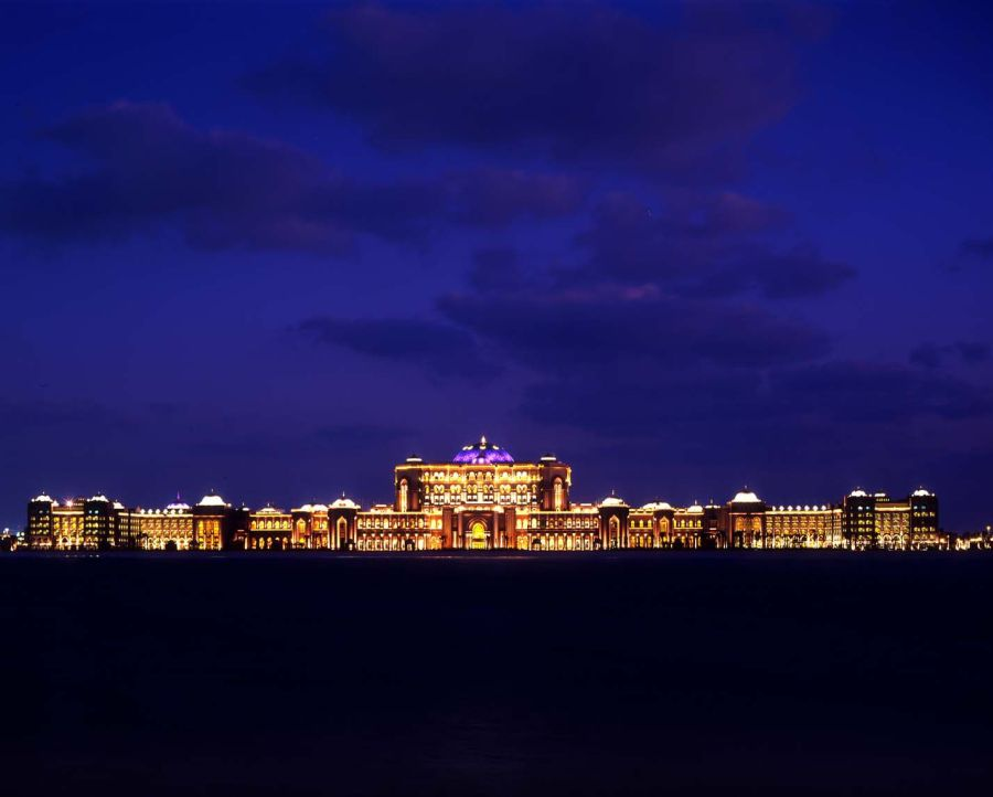Luxury hotel - The Emirates Palace Hotel