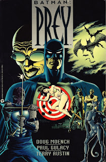 Batman Prey cover - Posible trama de The Dark Knight Rises.