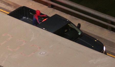 Spyder1 - Miren estás fotos de Spiderman en acción!!!