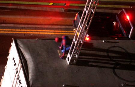 Spyder2 - Miren estás fotos de Spiderman en acción!!!