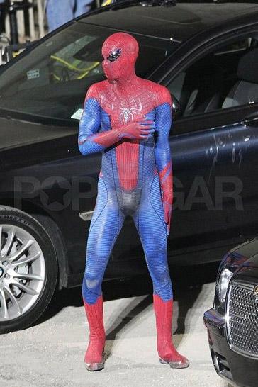spidermansetpicsfeb4a3 - Fotos de Spiderman en acción!
