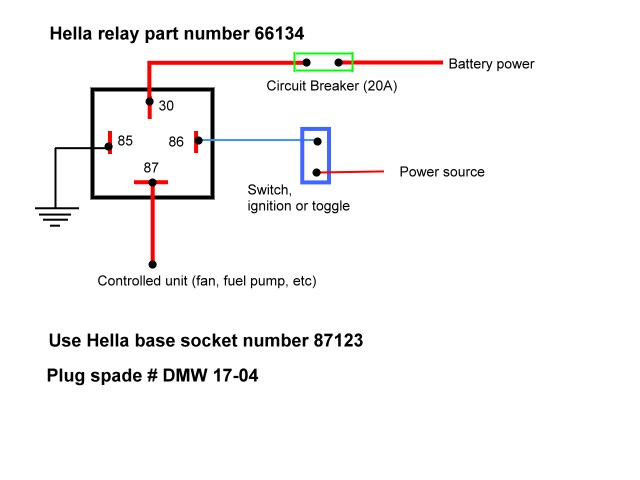 relay_wiring 30 amp relay wiring diagram efcaviation com wiring diagram for a 4 pin relay at edmiracle.co