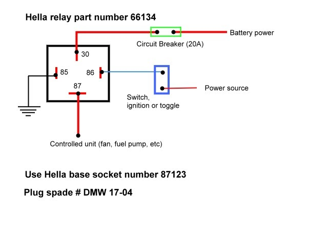 Hella 4ra Relay Wiring Diagram efcaviation – 12v Relay Wiring Diagram
