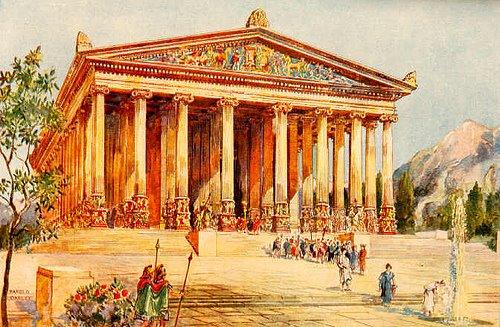 Resultado de imagem para templo de diana éfeso