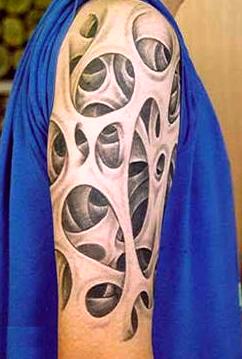 3d Tattoo Bali Crazy Tattoo Design