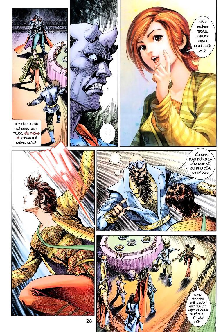Anh Hùng Xạ Điêu anh hùng xạ đêu chap 11 trang 28