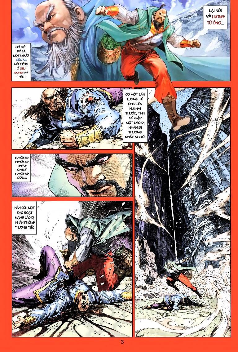 Anh Hùng Xạ Điêu anh hùng xạ đêu chap 11 trang 3
