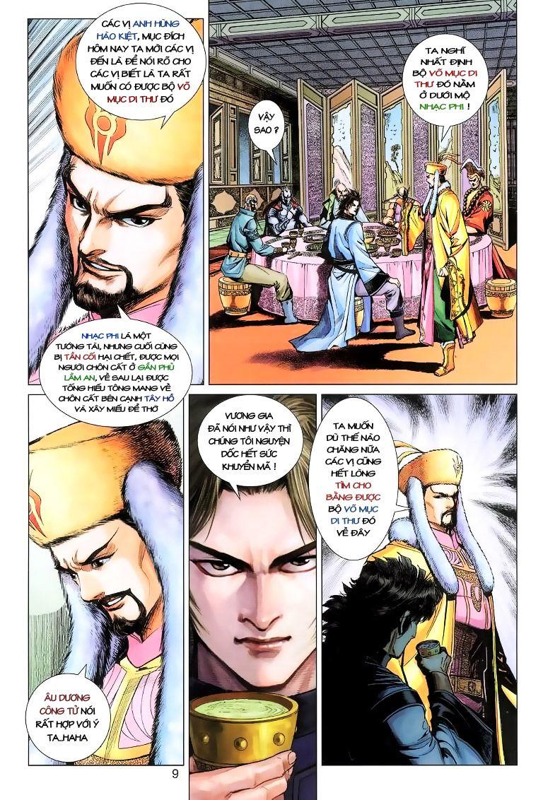 Anh Hùng Xạ Điêu anh hùng xạ đêu chap 11 trang 9