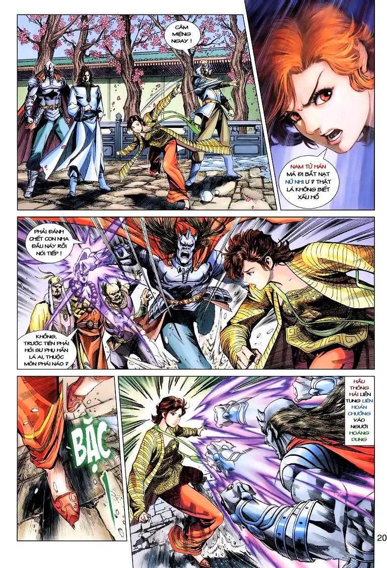Anh Hùng Xạ Điêu anh hùng xạ đêu chap 11 trang 20