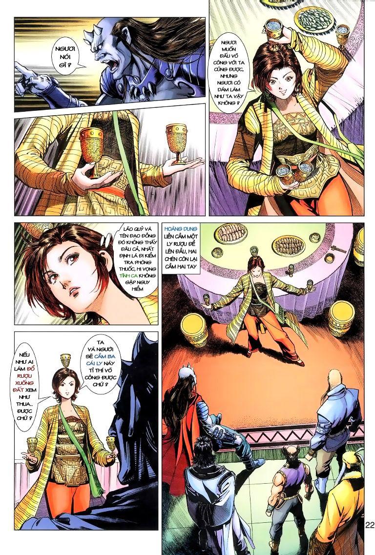 Anh Hùng Xạ Điêu anh hùng xạ đêu chap 11 trang 22