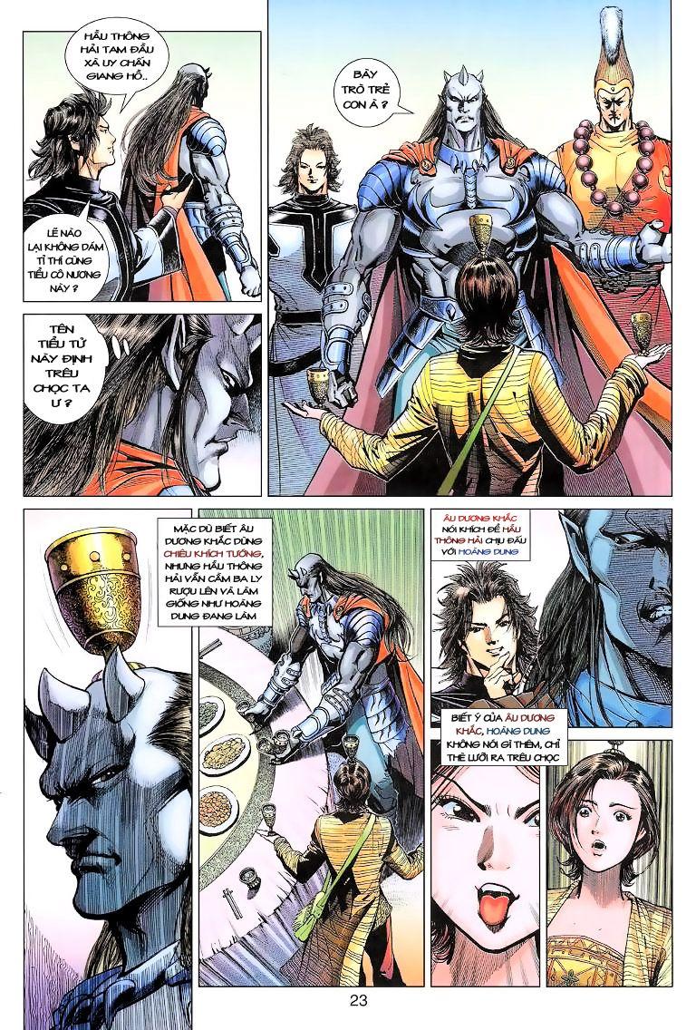 Anh Hùng Xạ Điêu anh hùng xạ đêu chap 11 trang 23