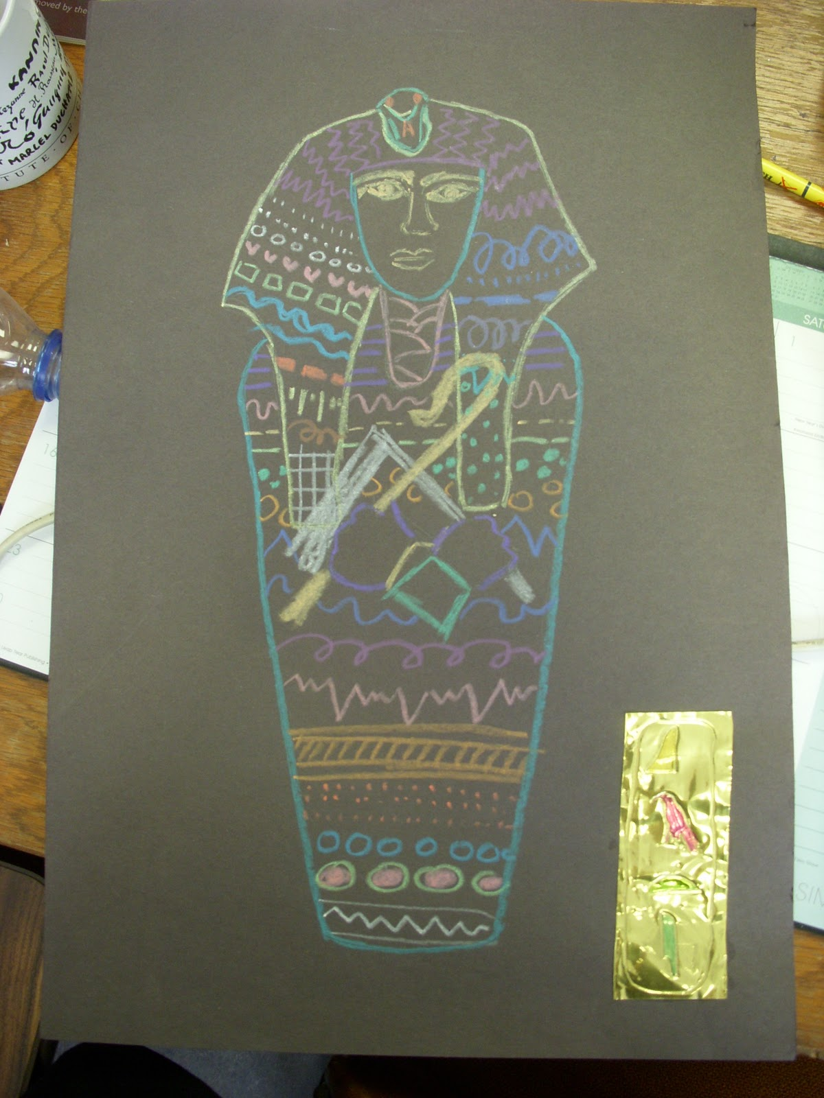 ARTASTIC! Miss Oetken's Artists: Lifesize Egyptian Sarcophagus