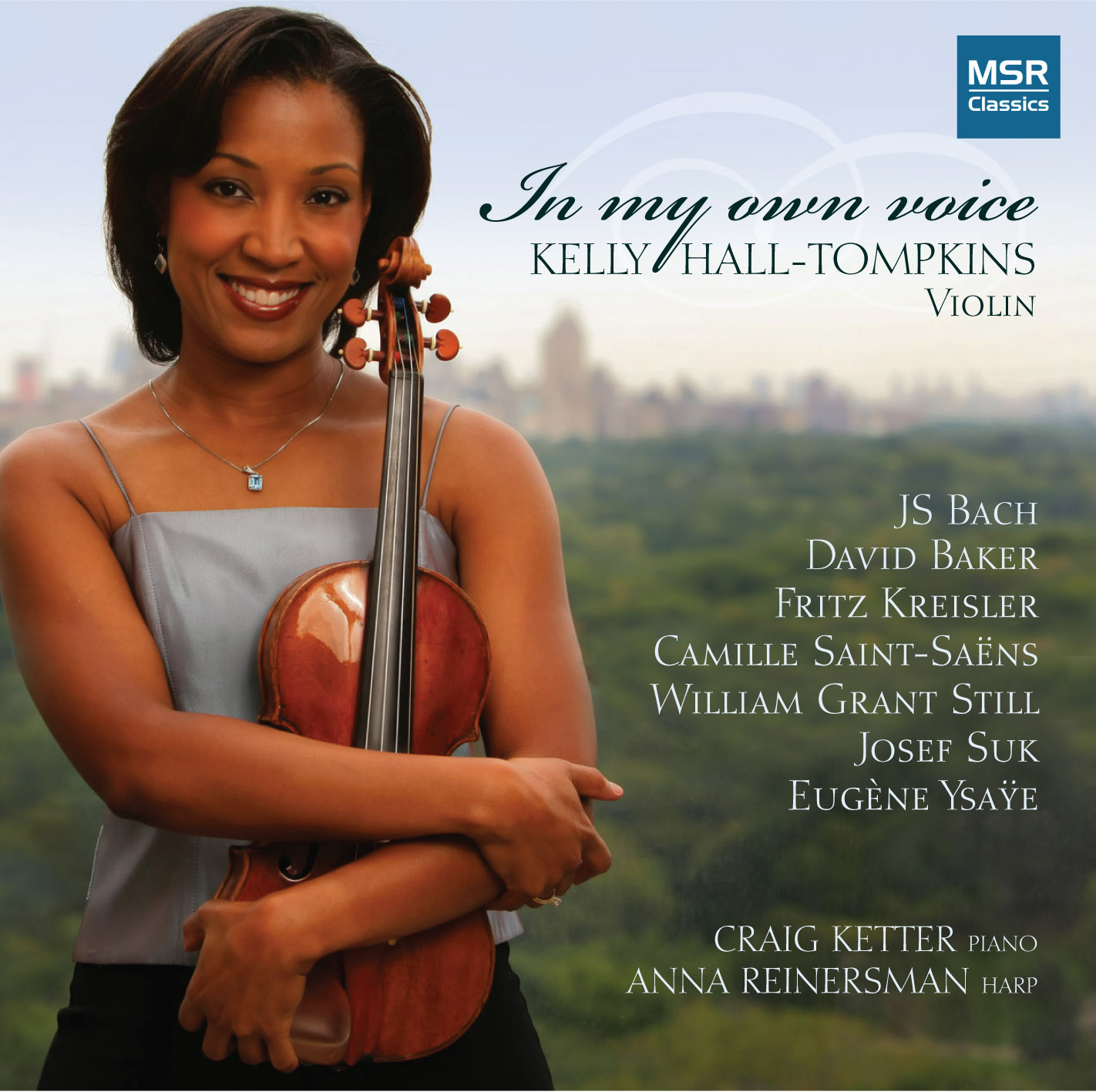 AfriClassical: Violinist Kelly Hall-Tompkins Signs With