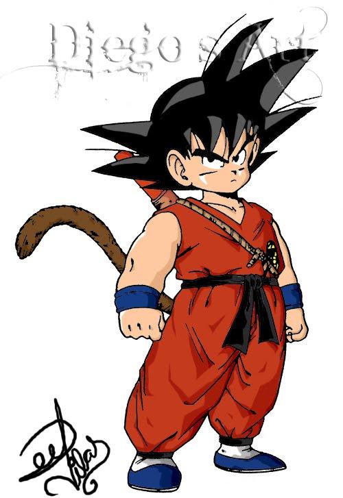 Diego S Art Goku Crianca
