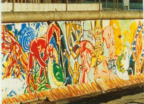 Timespanner: die Mauer -- the Berlin Wall