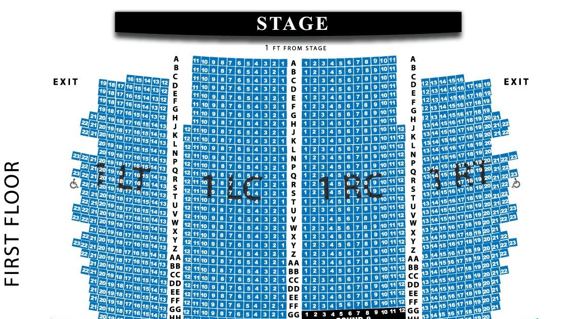Wisconsin Music Man Riverside Theater Sections And Seating Areas What S The Best
