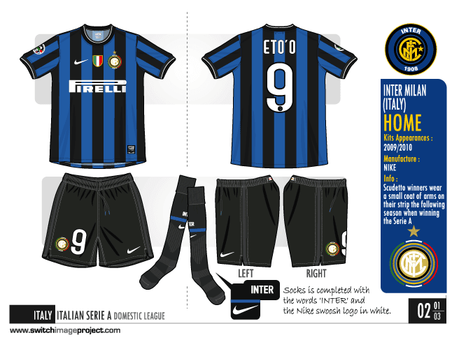outlet store 13be2 9e57d Pes Miti del Calcio - View topic - Inter Milan 2009-2010 ...