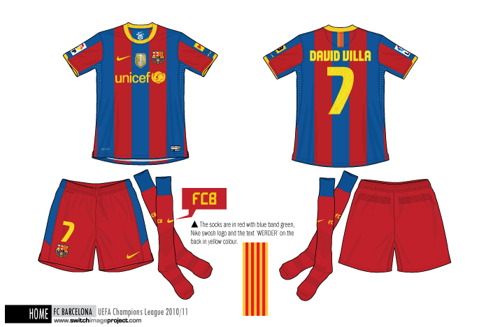 dfaf6c586 Barça s new away kit is predominantly green mint cool colour and carries  the Blaugrana of blue and red emblazoned across the chest
