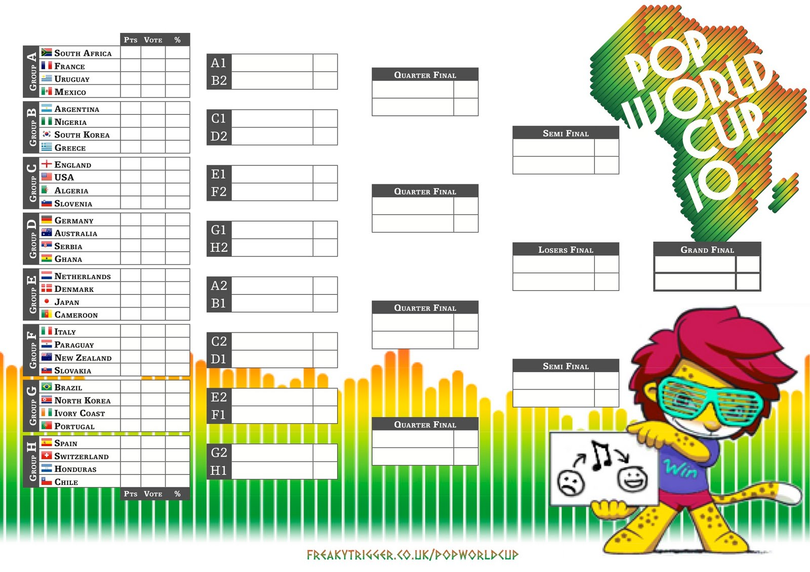 World Cup Football Soccer Another Great Printable Wall