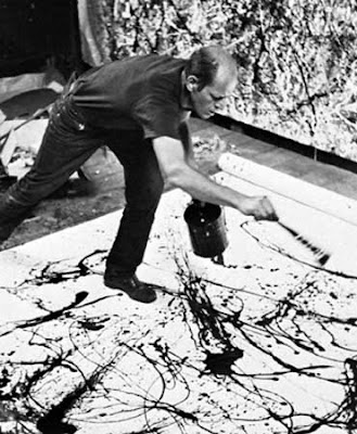 becky beamer painting of pollock documentary filmmaker