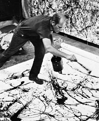 becky beamer painting of pollock documentary filmmaker