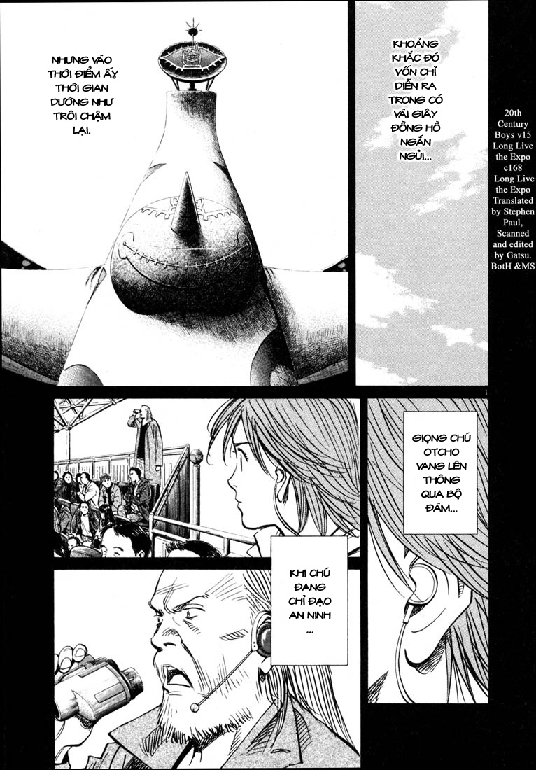 20th Century Boys chapter 168 trang 3